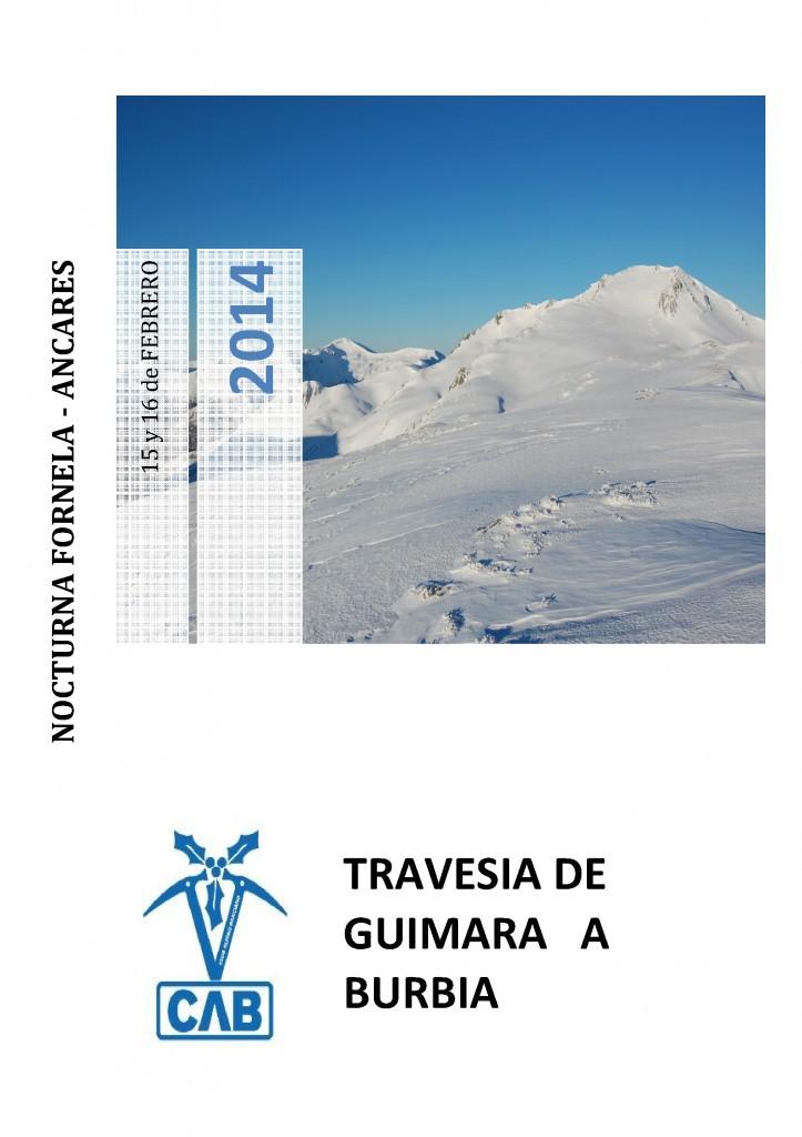 CARTEL GUIMARA BURBIA