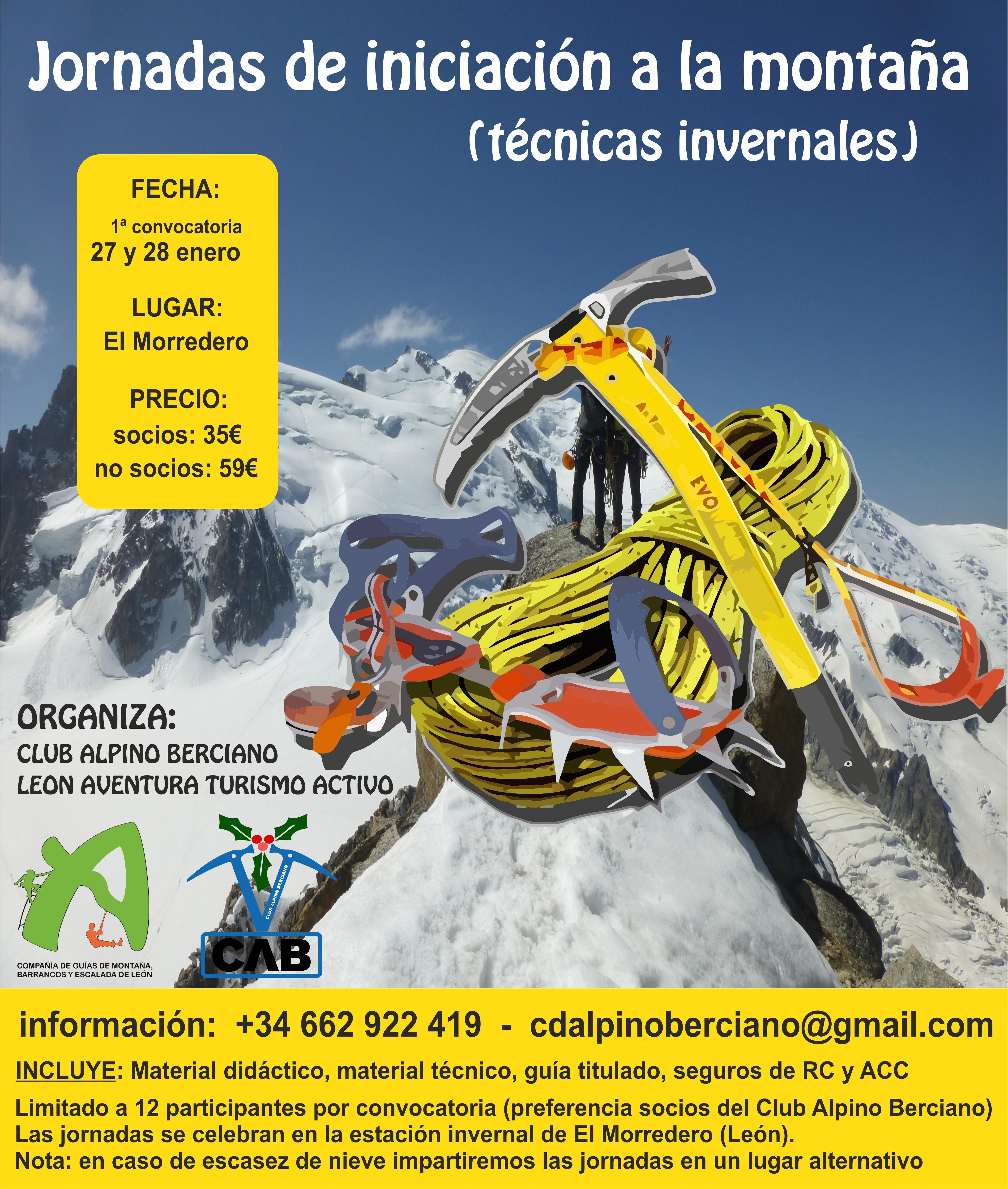 """""""CURSO DE TECNICAS INVERNALES"""""""